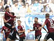 Fußball: Nürnberg untermauert Aufstiegsambitionen - 1:0 bei 1860