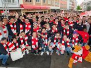 Fußball: «Das Wunder von Bernd» - Würzburg feiert Aufstiegshelden