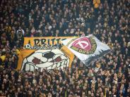 Fußball: Geldstrafe und Teilausschluss auf Bewährung für Dresden