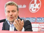 Fußball: FC Kaiserslautern präsentiert neuen Hauptsponsor