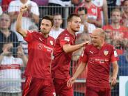 Fußball: VfBStuttgart siegt ohne Glanz2:1 beim SVSandhausen