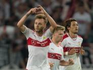 Fußball: Maxim bedankt sich nach 2:1-Erfolg bei VfB-Fans