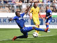 Fußball: KSCholt in Unterzahl einen Punkt: 0:0 gegen 1860