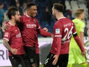 Verfolgerduell der 2. Liga: Hannover 96 besiegt den FC Heidenheim mit 3:2