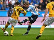 Last-Minute-Treffer: 1860 München gewinnt glücklich gegen Dynamo Dresden
