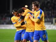 1:0 in Sandhausen: Braunschweig feiert ersten Rückrunden-Sieg