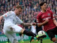 Enges Aufstiegsrennen: Rückschlag für Hannover: Nur 2:2 gegen Bielefeld