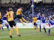 Herber Rückschlag: Aue verliert Sachsen-Derby gegen Dynamo Dresden 1:4