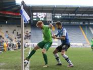 Starke Aufholjagd: Aue bleibt trotz 2:2 in Bielefeld Zweitliga-Letzter