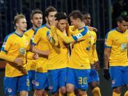 3:2 gegen Heidenheim: Braunschweig bleibt nach Sieg im Aufstiegsrennen