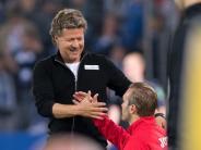 Nach einer Chaos-Saison: Mit «Jeff le Chef»:Arminia rockt die 2. Liga