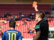 Drei Platzverweise: Braunschweig sieht gegen Regensburg Rot