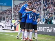 2. Liga: Bielefeld bezwingt Darmstadt 2:0 und bleibt oben dran