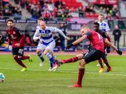 2. Liga: Nürnberg Tabellenführer - Düsseldorf und Kiel nur remis