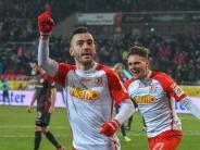 2. Liga: Jahn Regensburg schockt Fortuna Düsseldorf: 4:3 nach 0:3