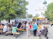 Dorffest: Schattenplätze sind heiß begehrt