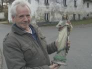 Reue nach 40 Jahren: Gestohlener Jesus ist zurück in Nische der Alten Mühle