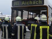 """Sielenbach: """"Busunfall"""" ist der Höhepunkt der Übung"""