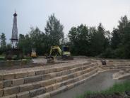 Sielenbach: Zum Besuch der Franzosen ist Dorfplatz fertig
