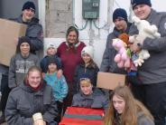 : Ein Päckchen voller Glück für Rumänien