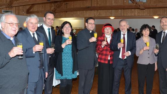 Neujahrsempfang: Vieles in der Pfarreiengemeinschaft wächst zusammen - Augsburger Allgemeine