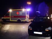 Aichach-Ecknach: Fußgänger von Auto angefahren und schwer verletzt