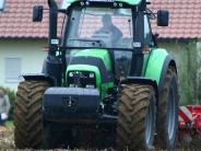 Bürgerversammlung Oberbernbach: Große Traktoren sorgen für Ärger
