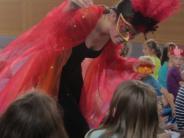 : Feuervogel besucht Schule