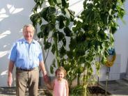 Gartenfest: Luisa Wilhelm und ihr Opa haben das richtige Händchen