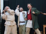 Mittelalterliche Markttage: Bodenlose Dummheiten: Volkstheater und Theaterfreunde widmen sich menschlichen Verfehlungen