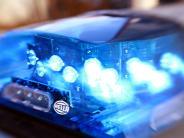 Polizei: Mann schlägt Frau in Schrobenhausen ein Glas ins Gesicht