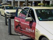 Glosse: Taxi ohne Erotikwerbung: Hat sonst noch jemand Wünsche?