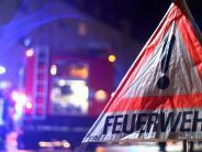 Polizeibericht: Maschinenhalle brennt ab:Rund vier Millionen Euro Schaden