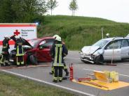 Polizei: Fünf Verletzte bei Unfall
