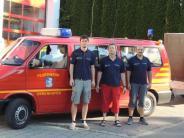 Einsatz: Gebenhofener Feuerwehr hilft in Simbach