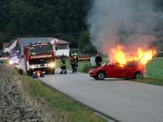 Übung: Feuerwehr: Großeinsatz an der Flutgrabenbrücke