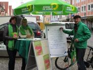 Umwelt: Fahrradklima: Aichacher Grüne rufen die Radler zum Test auf