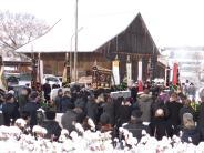 Beerdigung: Bewegender Abschied in Adelzhausen von Johann Schmaus