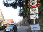 Gemeinderat Affing: Autofahrer ignorieren Sperrschild in Mühlhausen