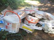 Polizeibericht: Umweltfrevler laden ihren Müll ab