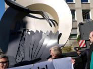 Landwirtschaft: Skulptur aus Wilpersberg hat Auftritt in Hannover
