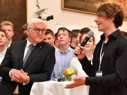 Bildung: Friedberger Schüler treffen Steinmeier