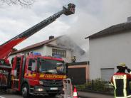 Brand in Aichach: Kripo ermittelt nach Wohnhausbrand