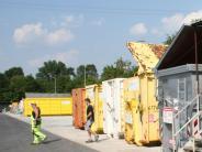 """Recyling: Halbe Million für Wertstoffhof regt selbst """"Fans"""" auf"""