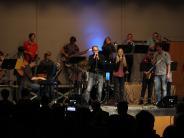 Frühjahrskonzert: Purple Gang spielt groovig und rockig