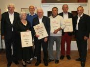 : Seltene Auszeichnung beim TSV Aichach: Verein ernennt sechs Ehrenmitglieder