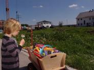 Affing-Mühlhausen: Auf dem Spielplatz in Mühlhausen ist viel Platz