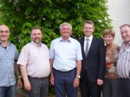 Versammlung: Tomaschko sagt in Petersdorf Unterstützung beim Ausbau zu