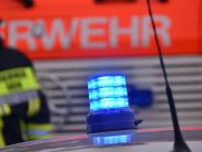 Polizeibericht: Nachbarin entdeckt Brand auf Balkon