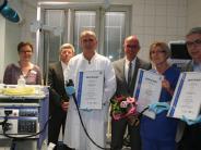 Aichach-Friedberg: Kliniken: TÜV bestätigt Qualität der Endoskopie